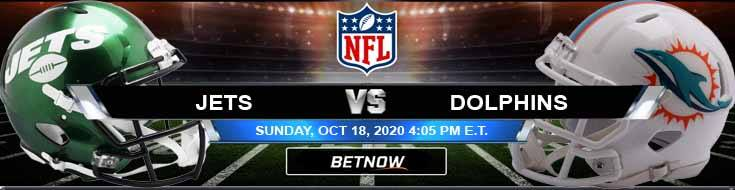 New York Jets vs Miami Dolphins 10-18-2020 Football Betting Odds and NFL Picks