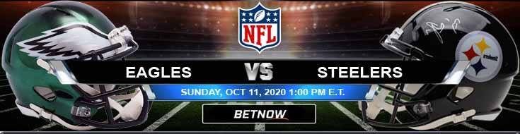Philadelphia Eagles vs Pittsburgh Steelers 10-11-2020 Results Football Betting and Odds