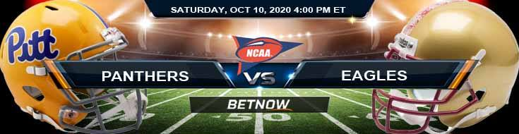 Pittsburgh Panthers vs Boston College Eagles 10-10-2020 NCAAF Spread Game Analysis and Tips