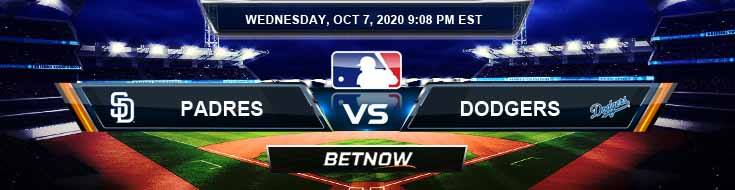 San Diego Padres vs Los Angeles Dodgers 10-07-2020 Previews Spread and Game Analysis