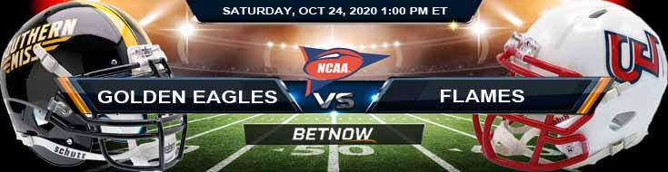 Southern Mississippi Golden Eagles vs Liberty Flames 10-24-2020 NCAAF Previews Tips & Game Analysis