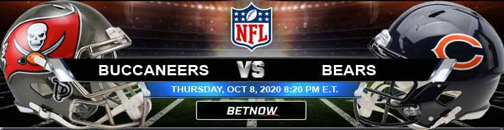 Tampa Bay Buccaneers vs Chicago Bears 10-08-2020 NFL Odds Picks and Predictions