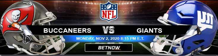 Tampa Bay Buccaneers vs New York Giants 11-02-2020 Predictions NFL Previews and Spread