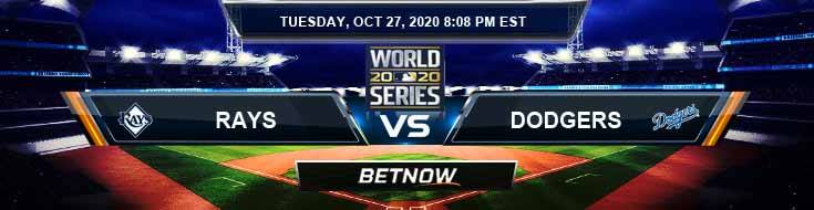 Tampa Bay Rays vs Los Angeles Dodgers 10-27-2020 World Series Game 6 Betting Tips and Forecast
