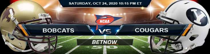 Texas State Bobcats vs BYU Cougars 10-24-2020 NCAAF Spread Picks & Previews