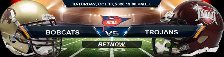 Texas State Bobcats vs Troy Trojans 10-10-2020 NCAAF Predictions Odds & Previews
