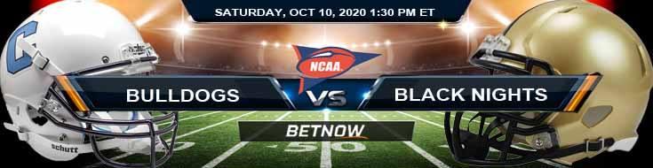 The Citadel Bulldogs vs Army Black Knights 10-10-2020 NCAAF Picks Previews & Game Analysis