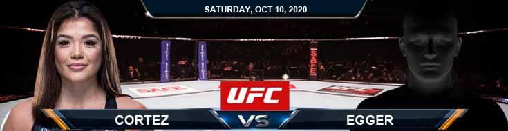 UFC Fight Night 179 Cortez vs Egger 10-10-2020 Picks UFC Predictions and Previews