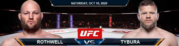 UFC Fight Night 179 Rothwell vs Tybura 10-10-2020 Picks UFC Predictions and Previews