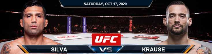 UFC Fight Night 180 Silva vs Krause 10-17-2020 Tips Results and Analysis