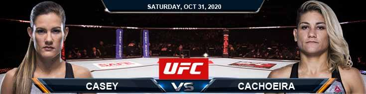 UFC Fight Night 181 Casey vs Cachoeira 10-31-2020 Odds Picks and Predictions