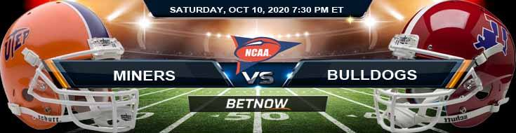 UTEP Miners vs LA Tech Bulldogs 10-10-2020 NCAAF Game Analysis Forecast & Tips