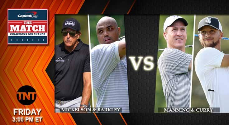 2020 Golf Odds Game III Champions for Change Manning Curry vs Mickelson Barkley Predictions Picks and Previews
