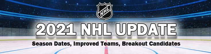 2021 NHL Season Dates, Improved Teams Breakout Candidates