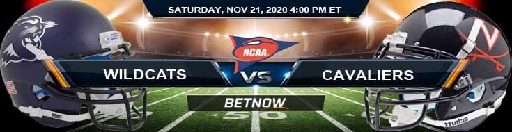 Abilene Christian Wildcats vs Virginia Cavaliers 11-21-2020 NCAAF Odds Previews & Tips