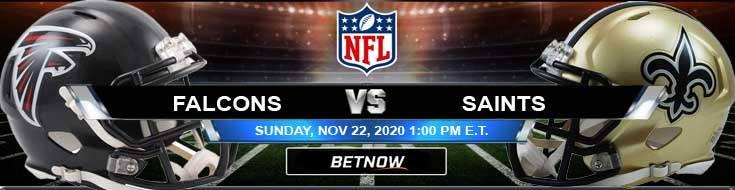 Atlanta Falcons vs New Orleans Saints 11-22-2020 Picks Predictions and Previews