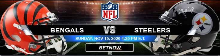 Cincinnati Bengals vs Pittsburgh Steelers 11-15-2020 Results Football Betting and Odds