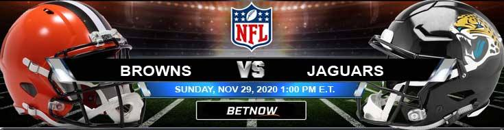 Cleveland Browns vs Jacksonville Jaguars 11-29-2020 Game Analysis Tips and NFL Forecast