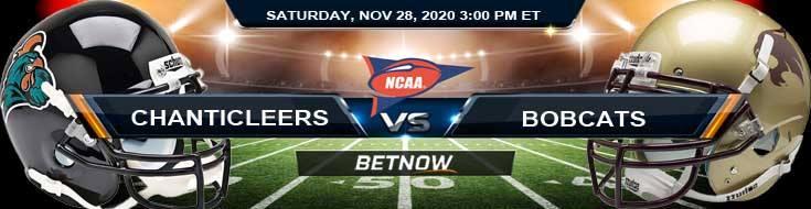 Coastal Carolina Chanticleers vs Texas State Bobcats 11-28-2020 NCAAF Results Odds & Predictions