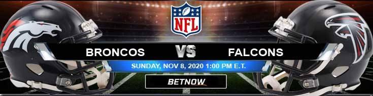Denver Broncos vs Atlanta Falcons 11-08-2020 Spread Game Analysis and Tips