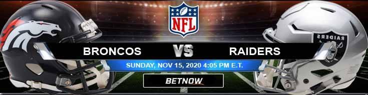 Denver Broncos vs Las Vegas Raiders 11-15-2020 Forecast NFL Analysis and Results