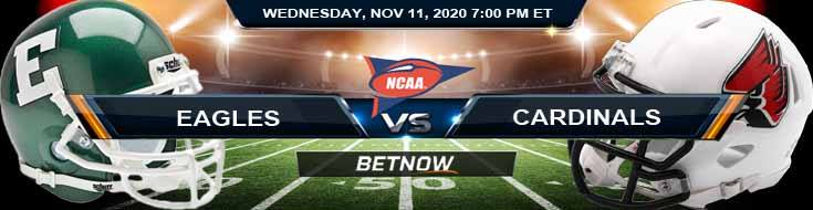 Eastern Michigan Eagles vs Ball State Cardinals 11-11-2020 NCAAF Tips Forecast & Analysis