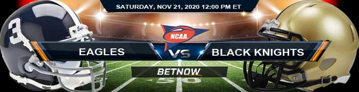 Georgia Southern Eagles vs Army Black Knights 11-21-2020 Previews Spread & NCAAF Odds