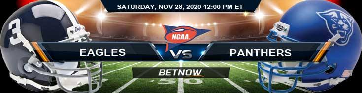 Georgia Southern Eagles vs Georgia State Panthers 11-28-2020 NCAAF Odds Previews & Tips