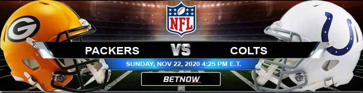 Green Bay Packers vs Indianapolis Colts 11-22-2020 Spread Game Analysis and Tips