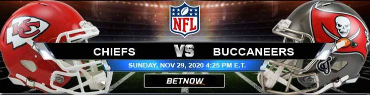 Kansas City Chiefs vs Tampa Bay Buccaneers 11-29-2020 Predictions NFL Previews and Spread