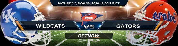 Kentucky Wildcats vs Florida Gators 11-28-2020 NCAAF Tips Predictions & Odds