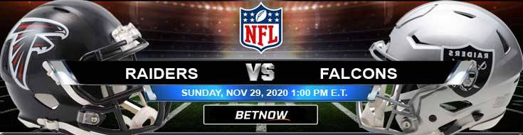 Las Vegas Raiders vs Atlanta Falcons 11-29-2020 Tips Forecast and Analysis