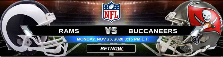 Los Angeles Rams vs Tampa Bay Buccaneers 11/23/2020 Predictions, Previews and Spread