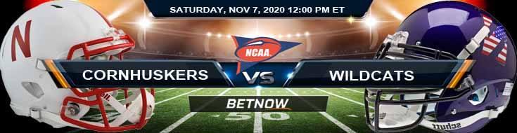 Nebraska Cornhuskers vs Northwestern Wildcats 11-07-2020 NCAAF Picks Previews & Game Analysis