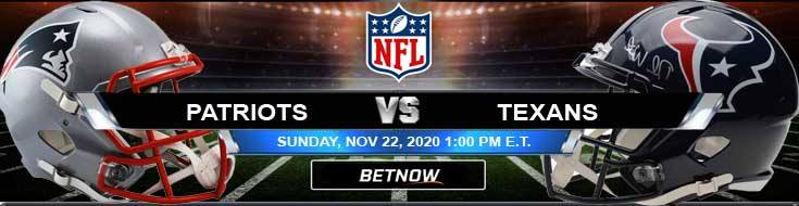 New England Patriots vs Houston Texans 11-22-2020 Game Analysis Tips and Forecast