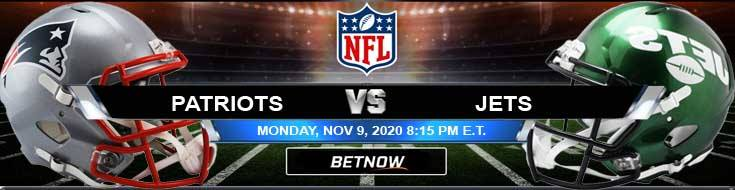 New England Patriots vs New York Jets 11-09-2020 Predictions NFL Previews and Spread