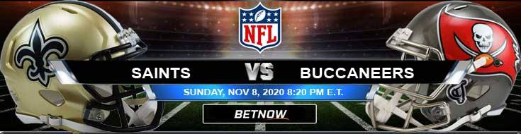 New Orleans Saints vs Tampa Bay Buccaneers 11-08-2020 Picks NFL Predictions and Previews