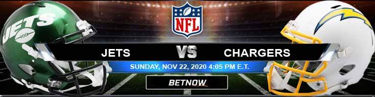 New York Jets vs Los Angeles Chargers 11-22-2020 Football Betting Odds and Picks