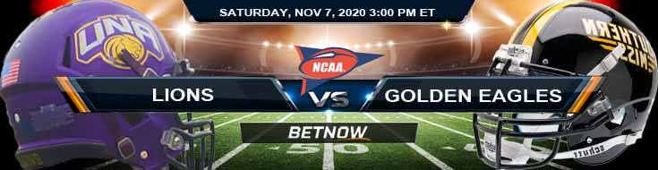 North Alabama Lions vs Southern Miss Golden Eagles 11-07-2020 NCAAF Odds Picks & Predictions