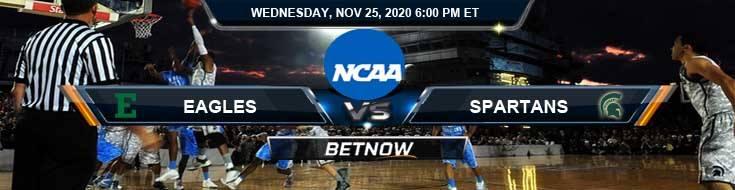 North Carolina Central Eagles vs Iowa Hawkeyes 11-25-2020 Odds Picks and Previews