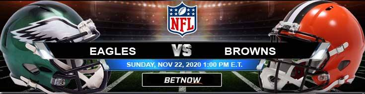 Philadelphia Eagles vs Cleveland Browns 11-22-2020 Tips Forecast and Analysis