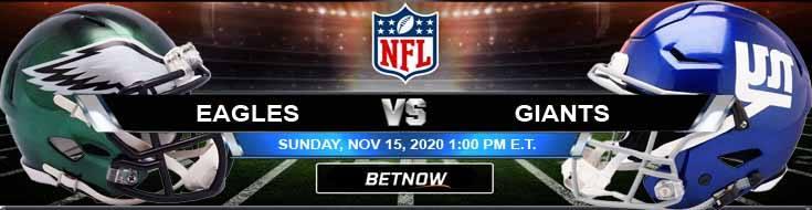 Philadelphia Eagles vs New York Giants 11-15-2020 Previews NFL Spread and Game Analysis