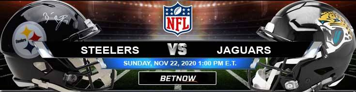 Pittsburgh Steelers vs Jacksonville Jaguars 11-22-2020 Forecast Analysis and Results