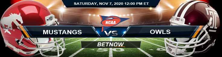 SMU Mustangs vs Temple Owls 11-07-2020 Game Analysis NCAAF Tips & Spread