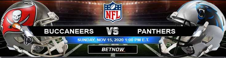 Tampa Bay Buccaneers vs Carolina Panthers 11-15-2020 Spread Game Analysis and Tips