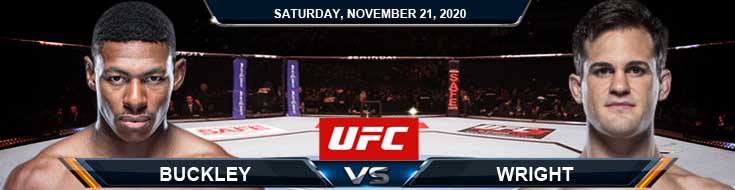UFC 255 Buckley vs Wright 11-21-2020 Spread Fight Analysis and Forecast