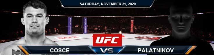 UFC 255 Cosce vs Palatnikov 11-21-2020 Picks Predictions and Predictions