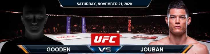 UFC 255 Gooden vs Jouban 11-21-2020 Fight Analysis Forecast and Tips