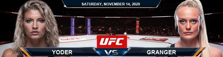 UFC Fight Night 183 Yoder vs Granger 11-14-2020 Tips Results and Analysis
