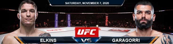 UFC on ESPN 17 Elkins vs Garagorri 11-07-2020 Results Analysis and Odds